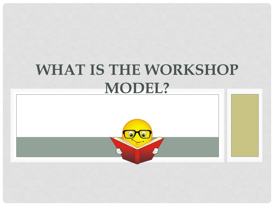 What Is The Workshop Model