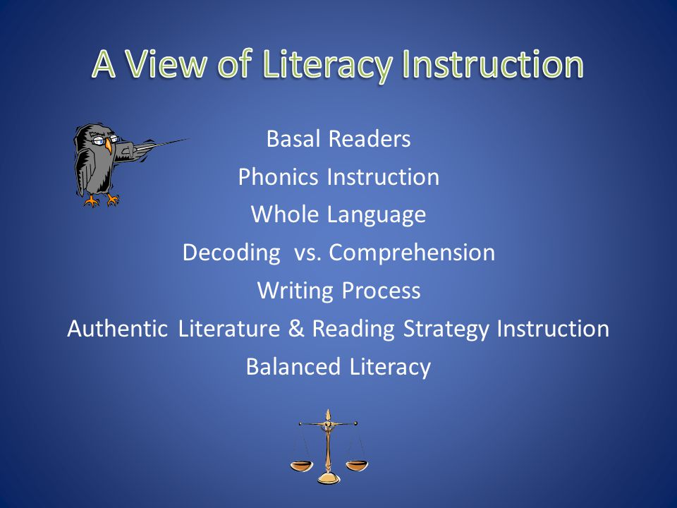 A View of Literacy Instruction