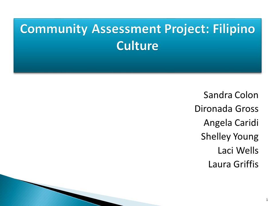 Community Assessment Project: Filipino Culture
