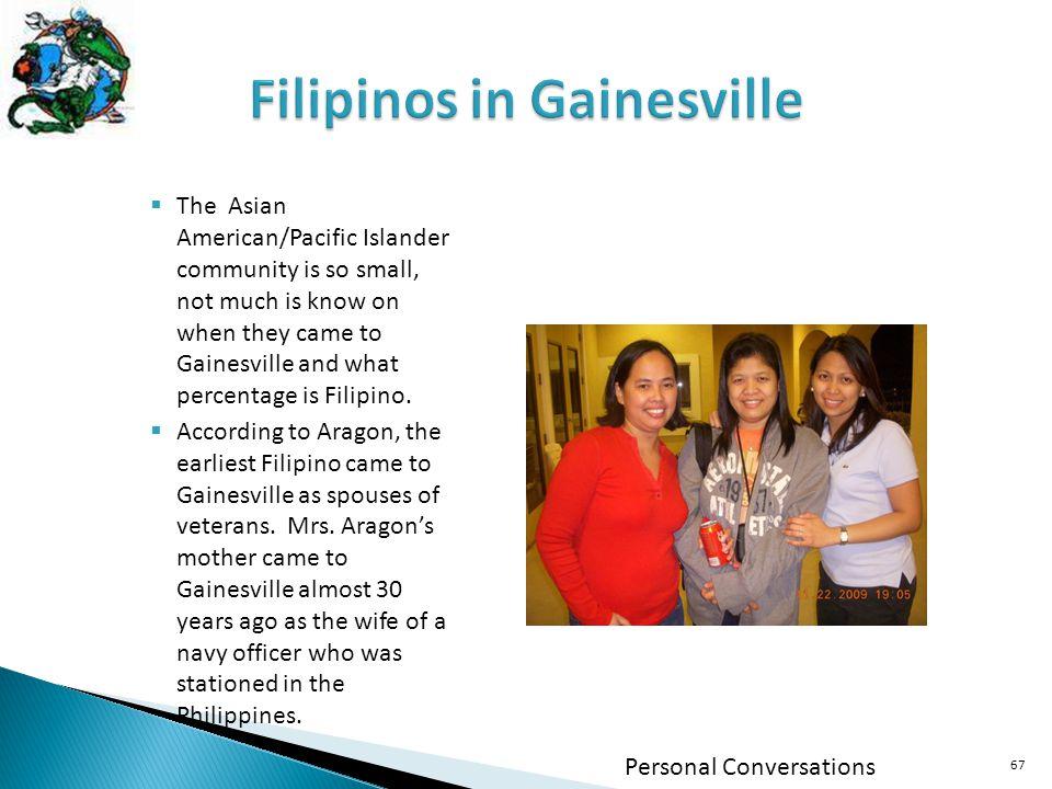 Filipinos in Gainesville