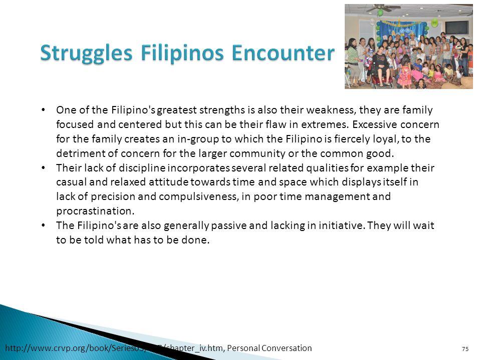 Struggles Filipinos Encounter