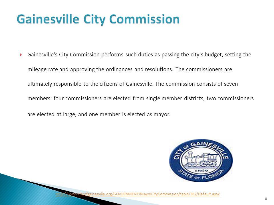 Gainesville City Commission