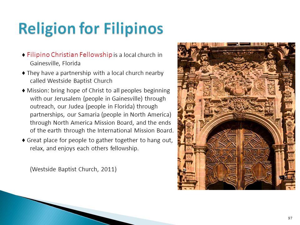 Religion for Filipinos