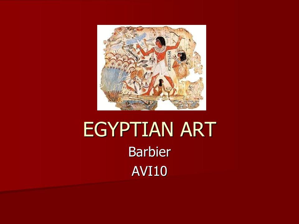 EGYPTIAN ART Barbier AVI10
