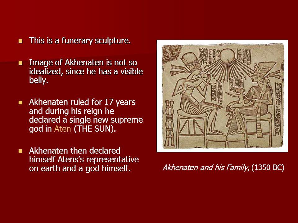 Akhenaten and his Family, (1350 BC)
