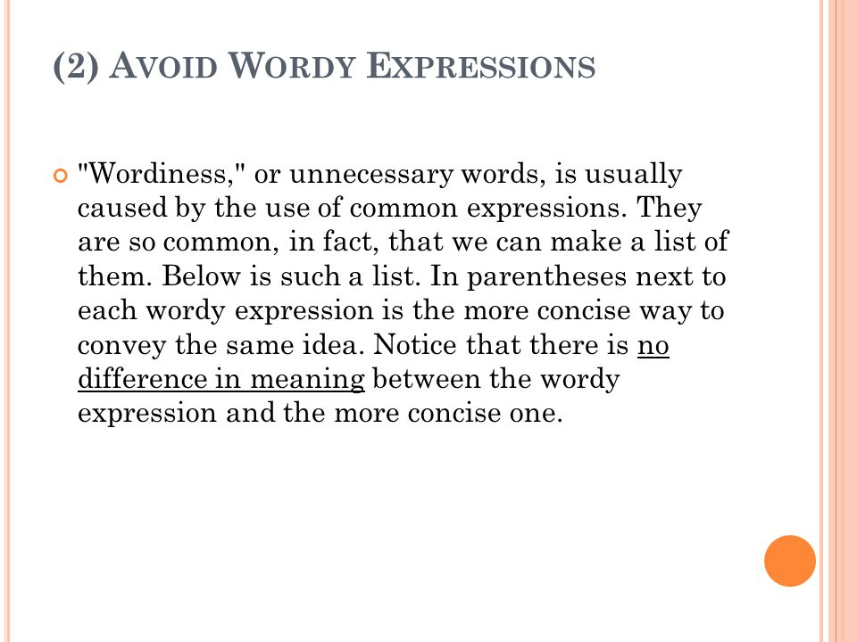 Essay words to avoid