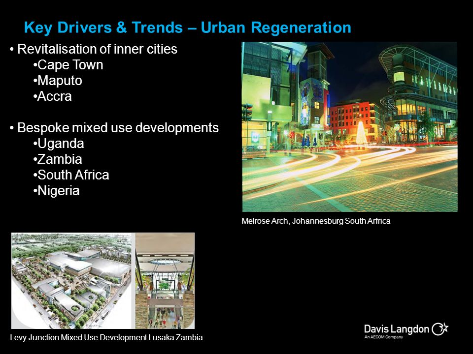 Key Drivers & Trends – Urban Regeneration