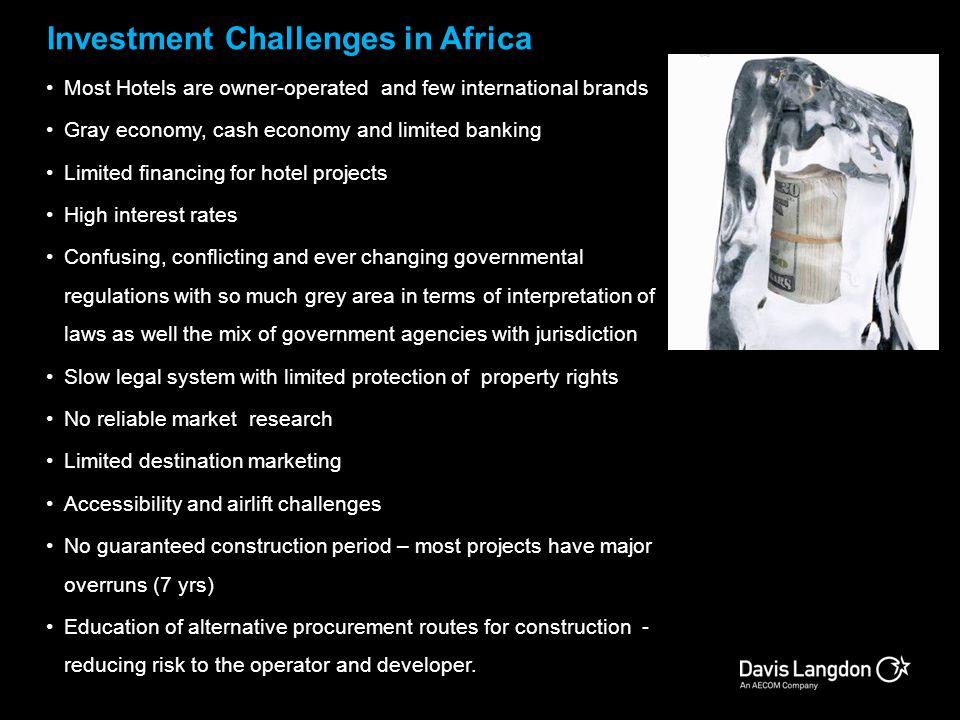 Investment Challenges in Africa