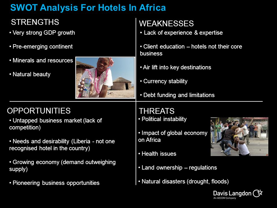 SWOT Analysis For Hotels In Africa
