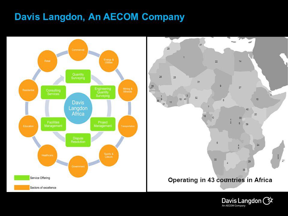 Davis Langdon, An AECOM Company