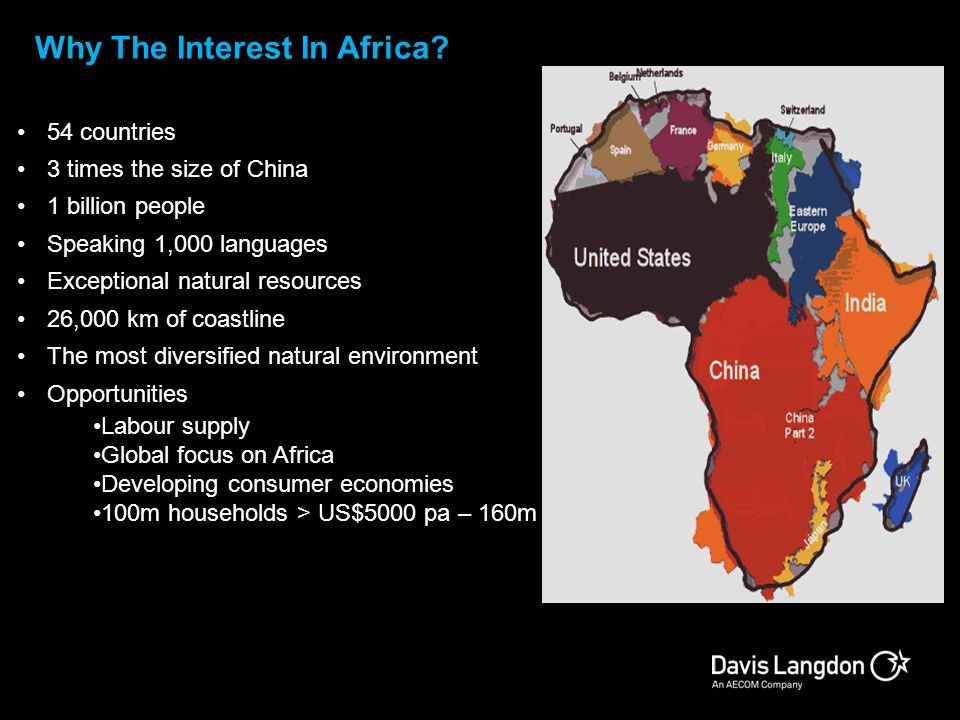 Why The Interest In Africa