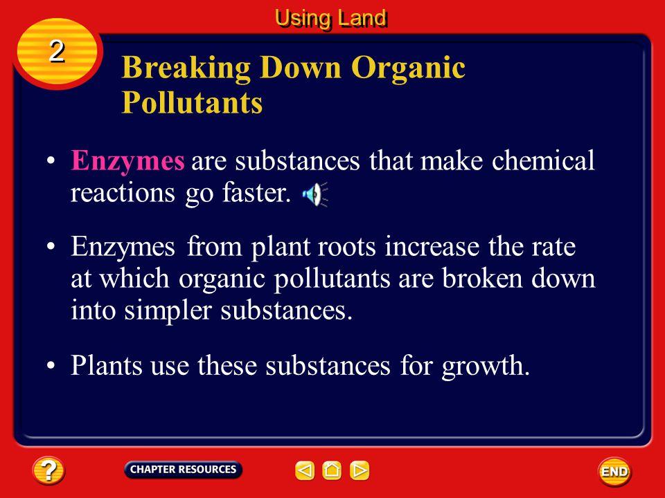 Breaking Down Organic Pollutants