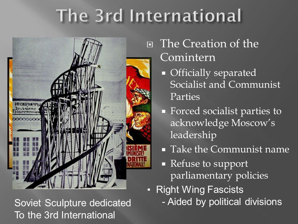 The 3rd International The Creation of the Comintern