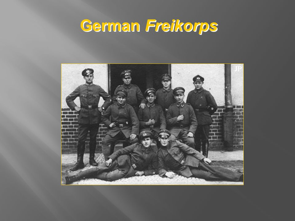 German Freikorps
