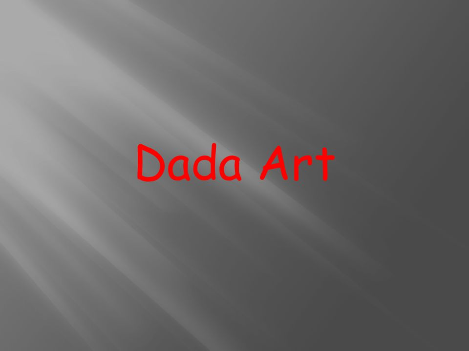 Dada Art
