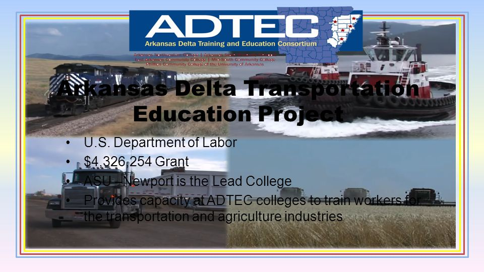 Arkansas Delta Transportation Education Project