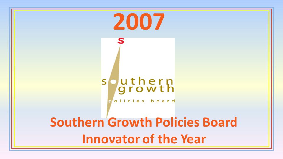 Southern Growth Policies Board Innovator of the Year