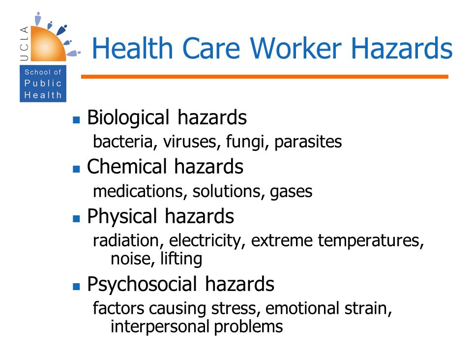 Health Care Worker Hazards