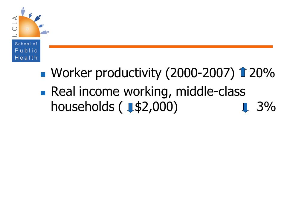 Worker productivity (2000-2007) 20%