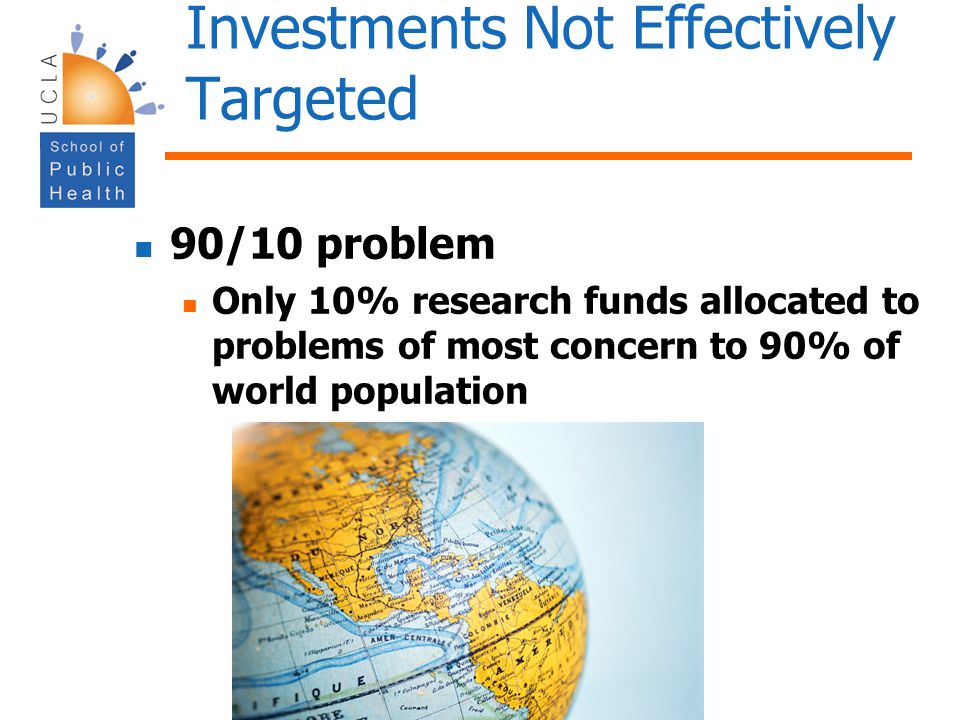 Investments Not Effectively Targeted