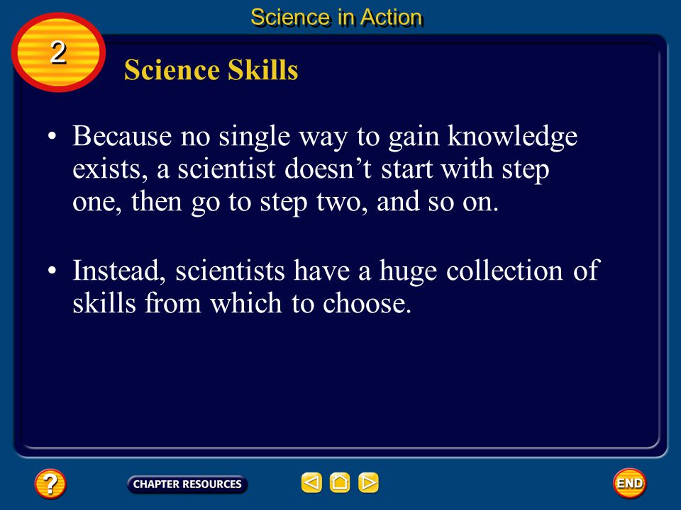 Science in Action 2. Science Skills.