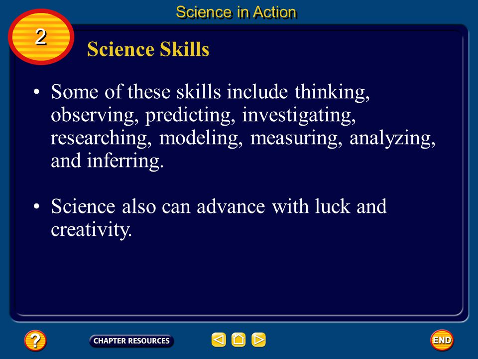 Science also can advance with luck and creativity.