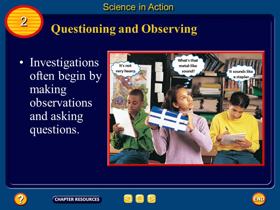 Questioning and Observing