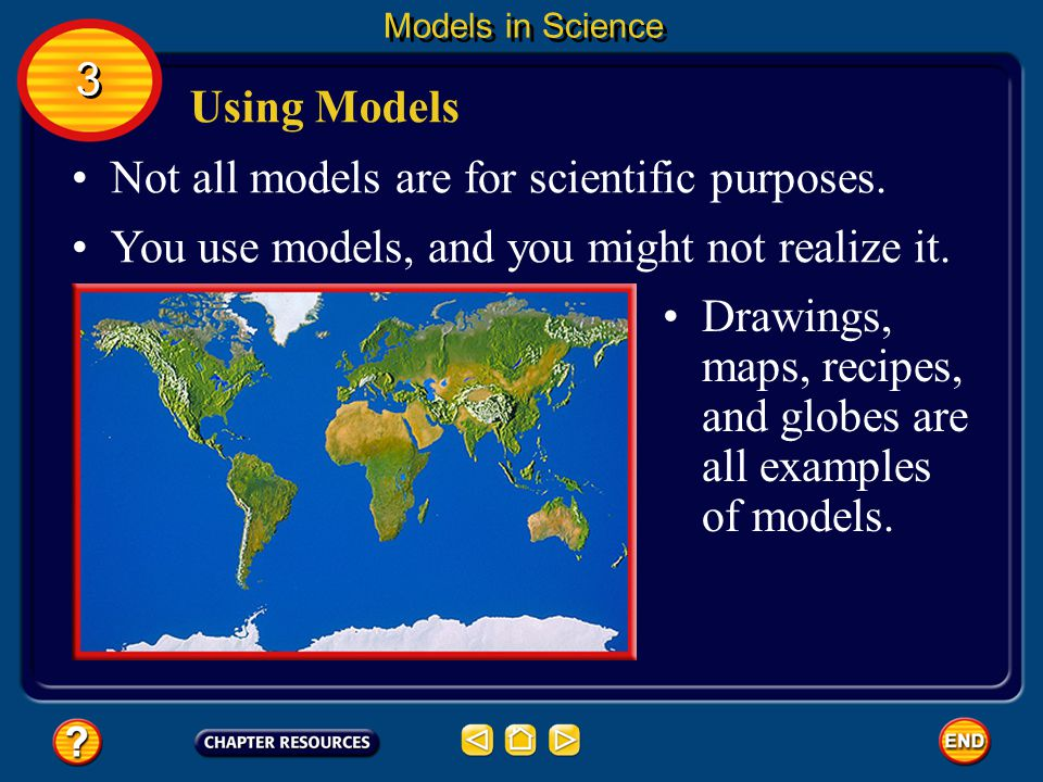Not all models are for scientific purposes.