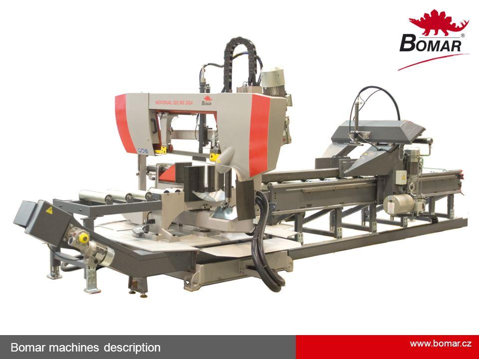 Bomar machines description