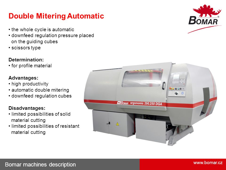 Double Mitering Automatic