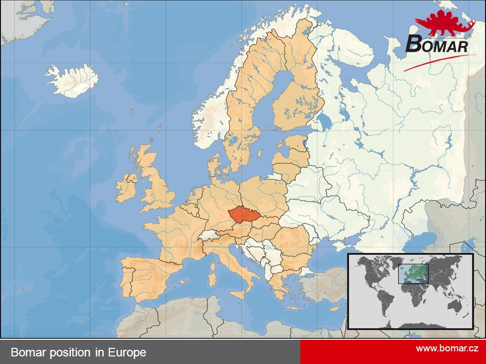 Bomar position in Europe