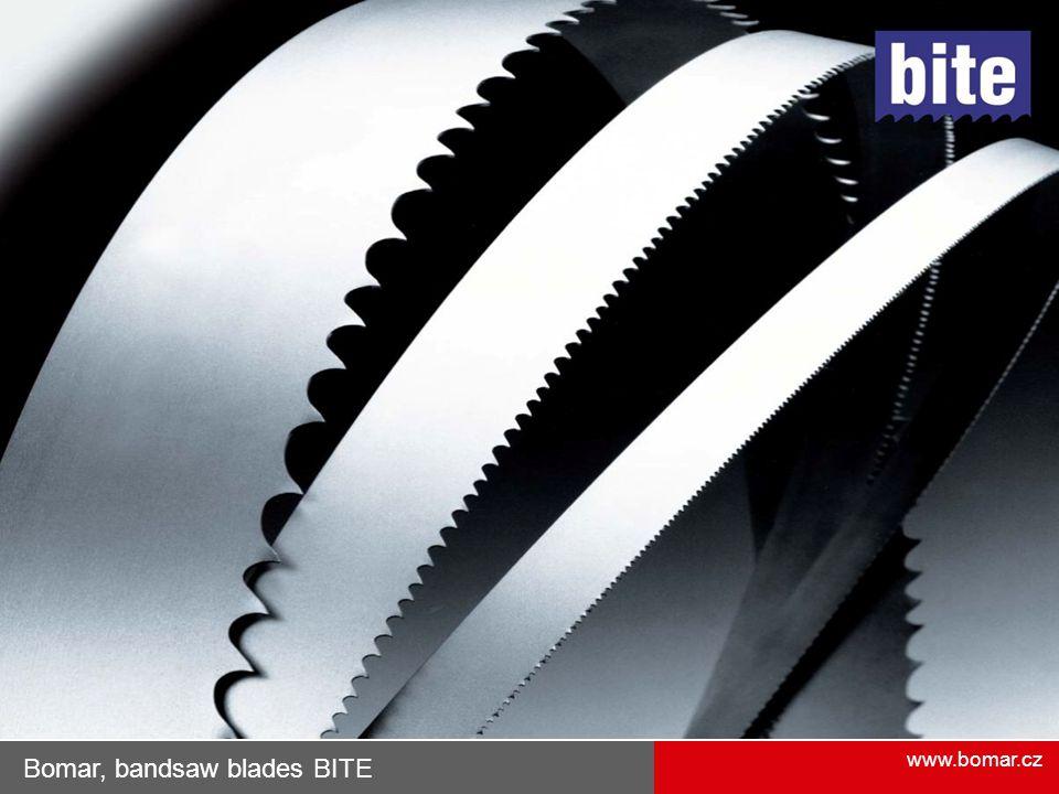 Bomar, bandsaw blades BITE