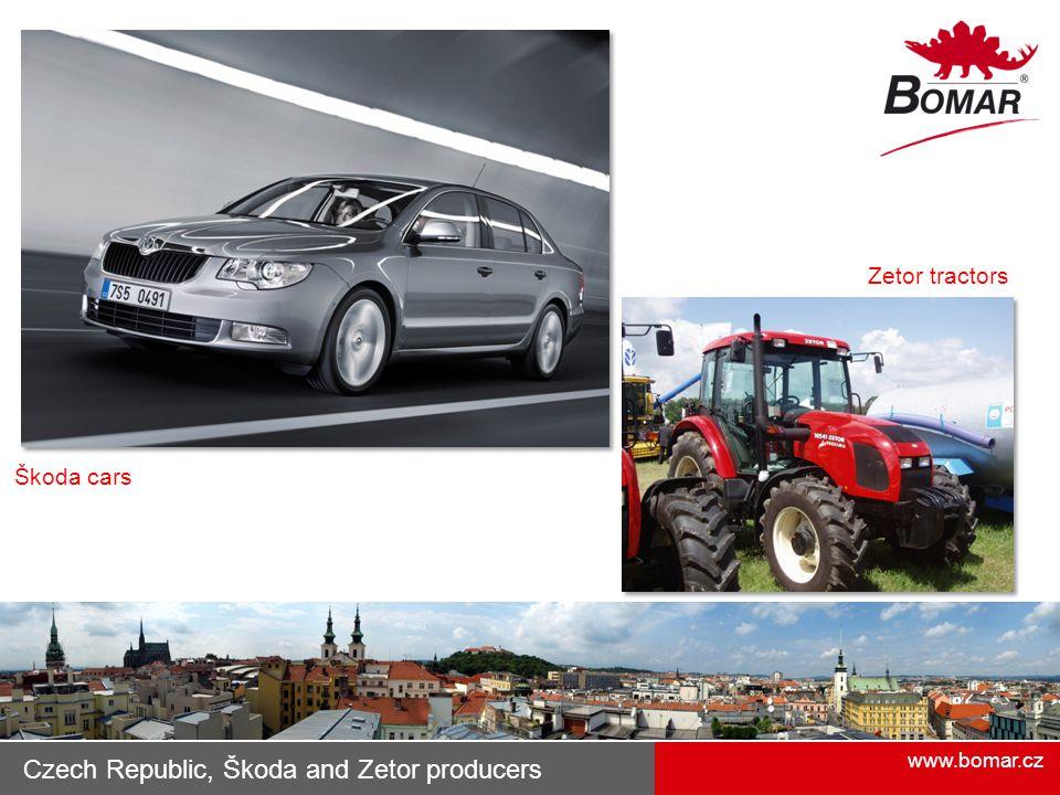 Czech Republic, Škoda and Zetor producers