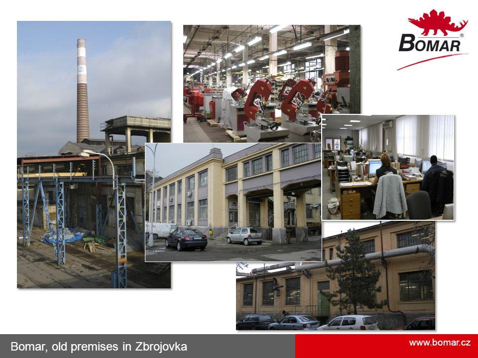 Bomar, old premises in Zbrojovka