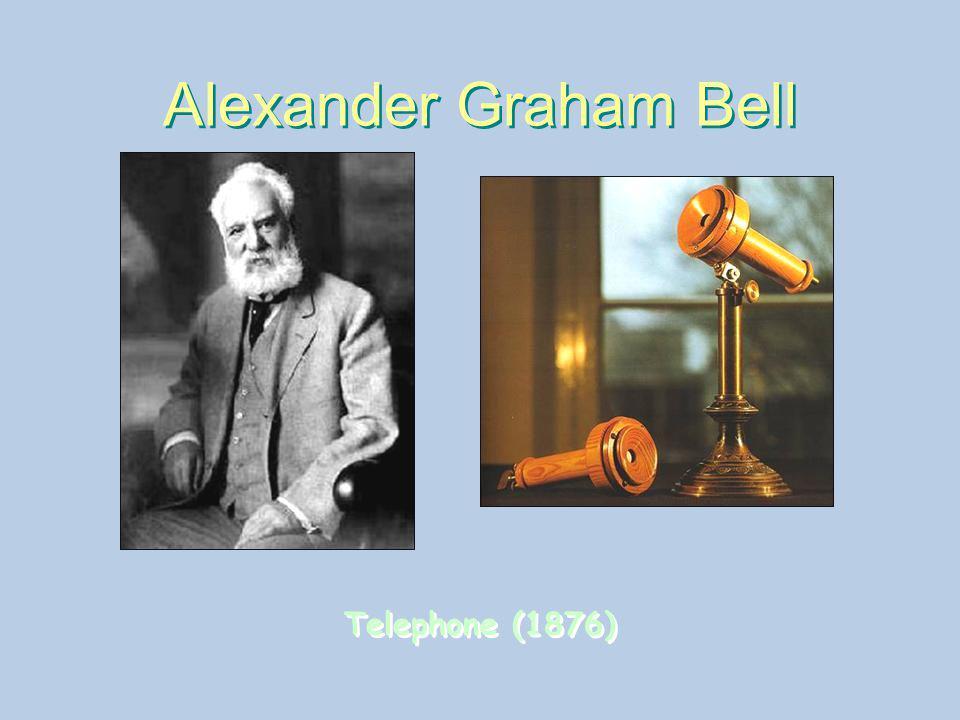 Alexander Graham Bell Telephone (1876)