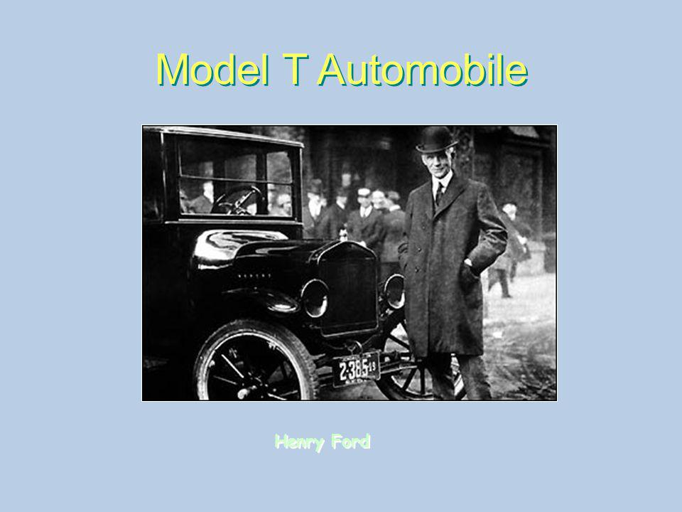 Model T Automobile Henry Ford