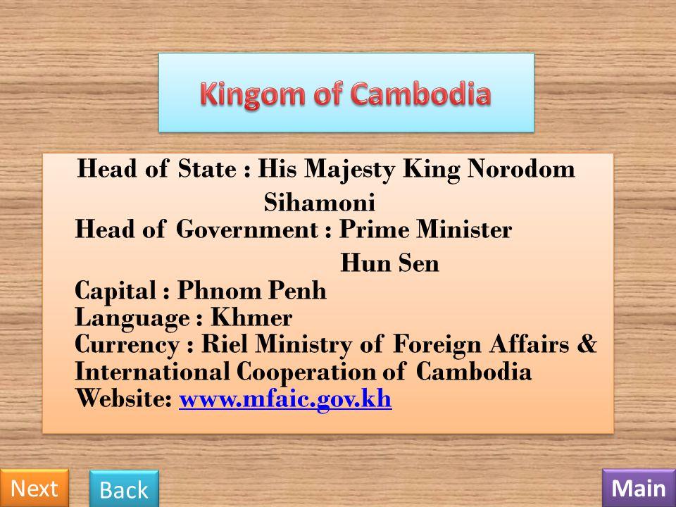 Kingom of Cambodia