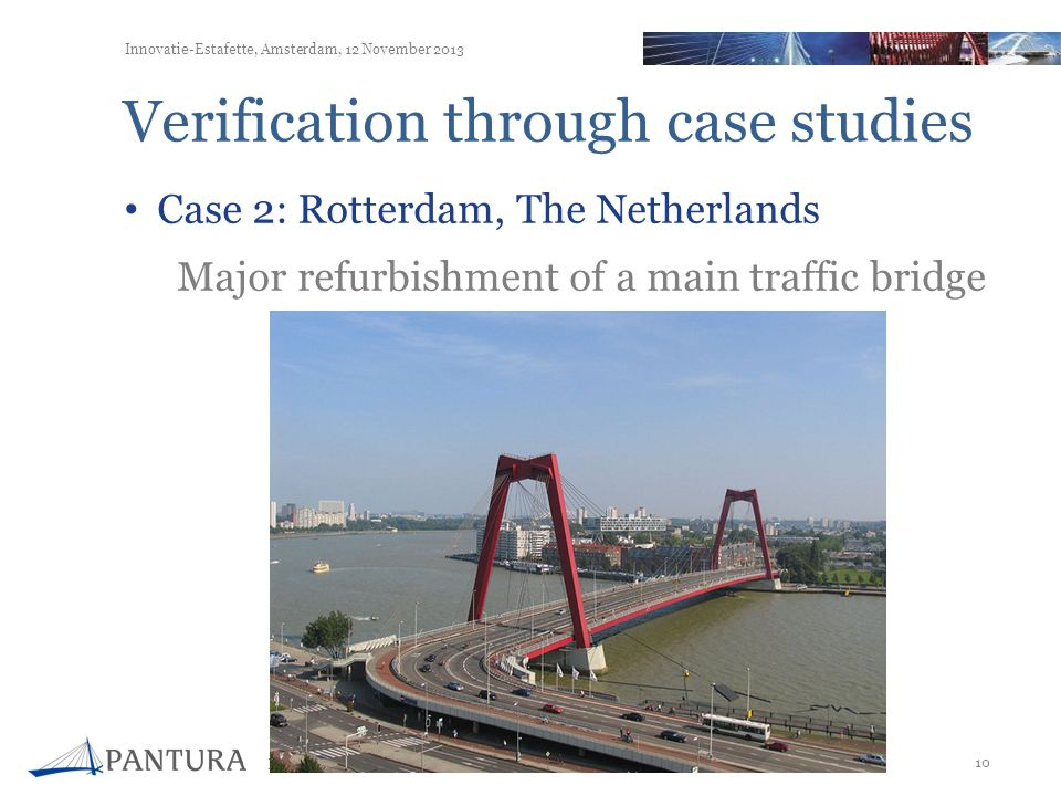 Verification through case studies