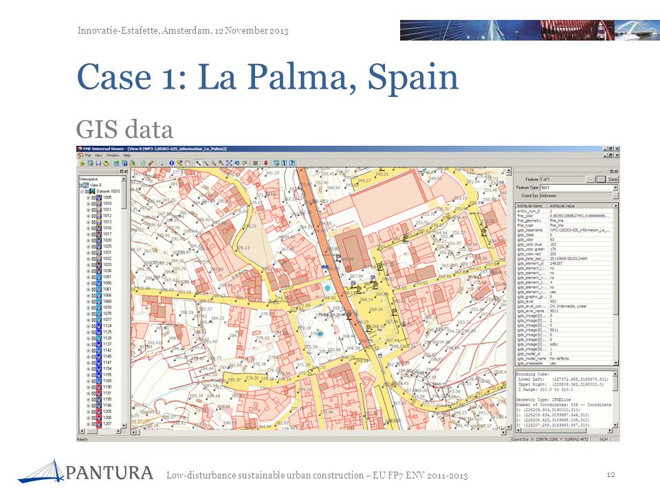 Case 1: La Palma, Spain GIS data