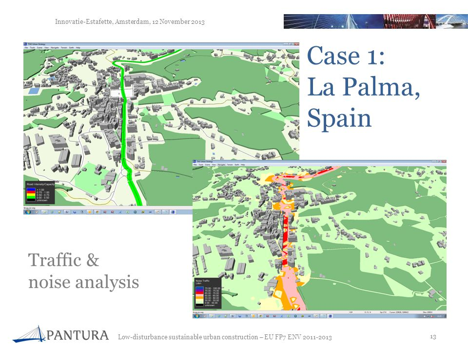 Case 1: La Palma, Spain Traffic & noise analysis