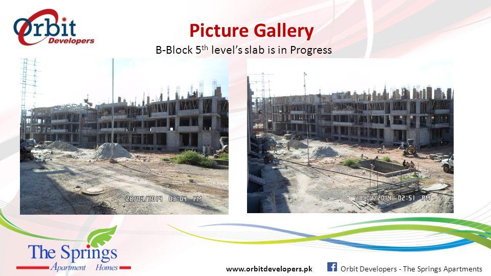 B-Block 5th level's slab is in Progress