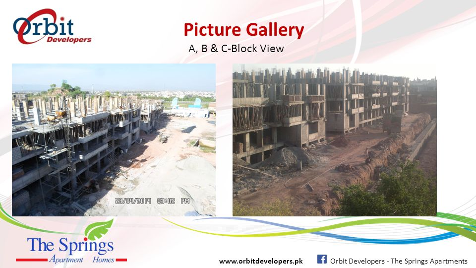 Picture Gallery A, B & C-Block View