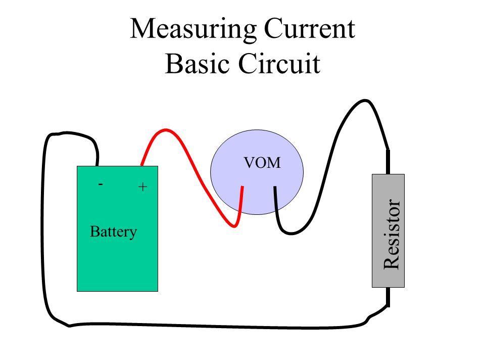Measuring Current Basic Circuit