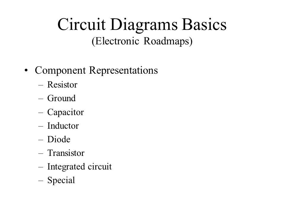 Circuit Diagrams Basics (Electronic Roadmaps)