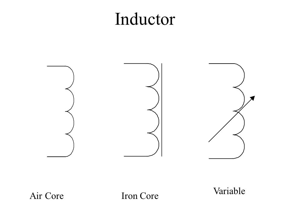 Inductor Variable Air Core Iron Core
