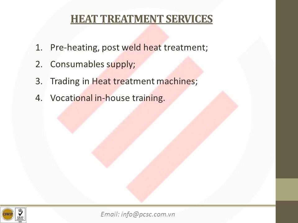 HEAT TREATMENT SERVICES