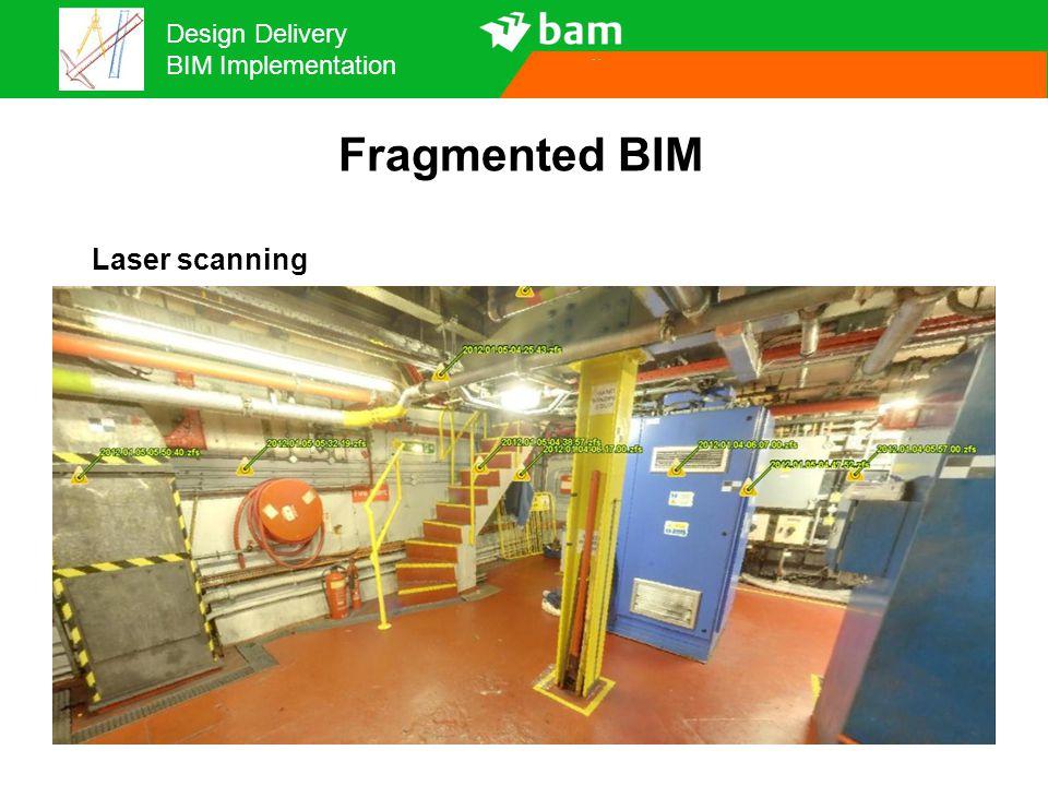 Fragmented BIM Laser scanning 14