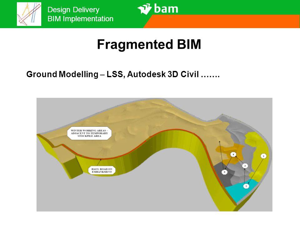 Fragmented BIM Ground Modelling – LSS, Autodesk 3D Civil ……. 16