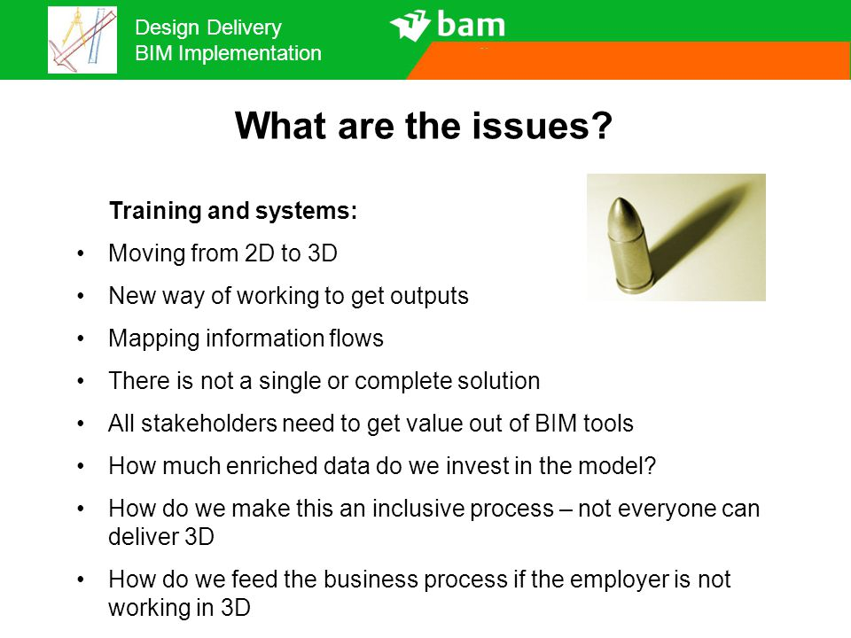 What are the issues Training and systems: Moving from 2D to 3D