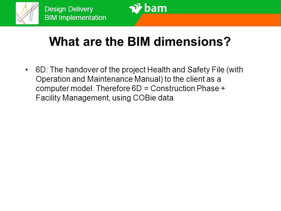What are the BIM dimensions